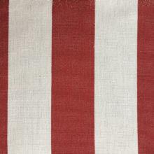 Toldo 21 Rood/Wit gestreept - Claassen Stofferingen