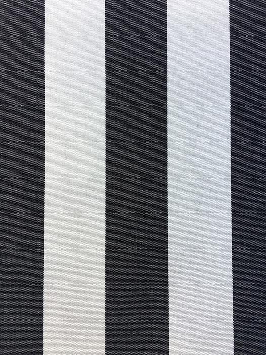 Toldo 404 Zwart/Wit gestreept - Claassen Stofferingen