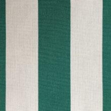 Toldo 7 Groen/Wit gestreept - Claassen Stofferingen