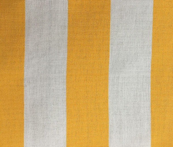 Toldo 9 Geel/Wit gestreept - Claassen Stofferingen